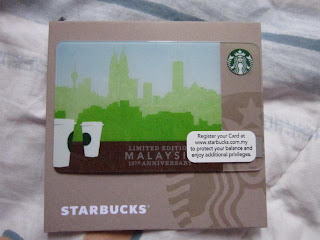 Starbucks Coffee 15th Anniversary Malaysia Asia Card Tote Bag Recycle Green limited edition