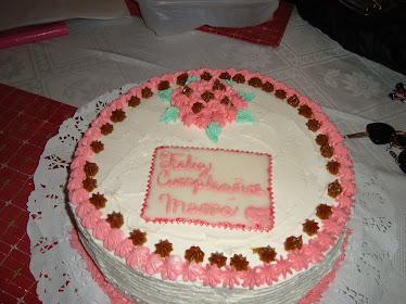 Torta cumpleaños trad. (25 personas)