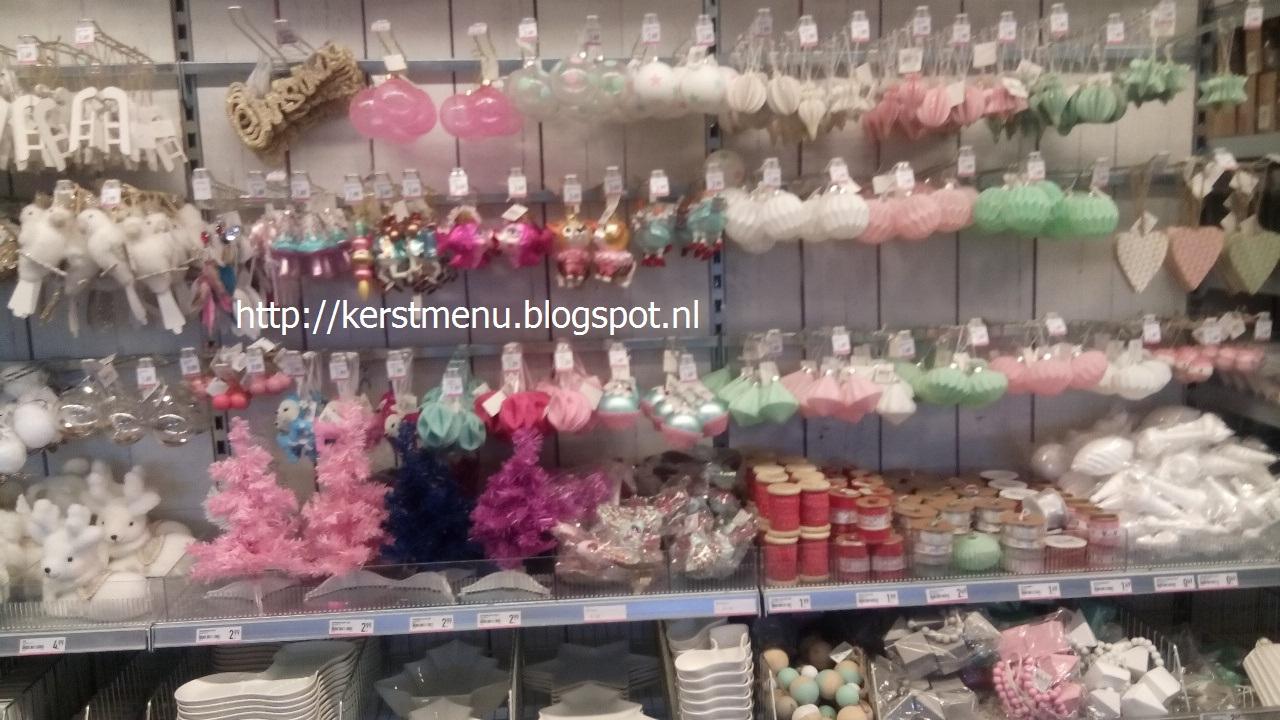 zacht roze kerstballen