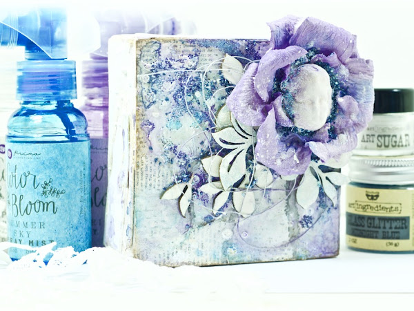 Winter Flower Canvas
