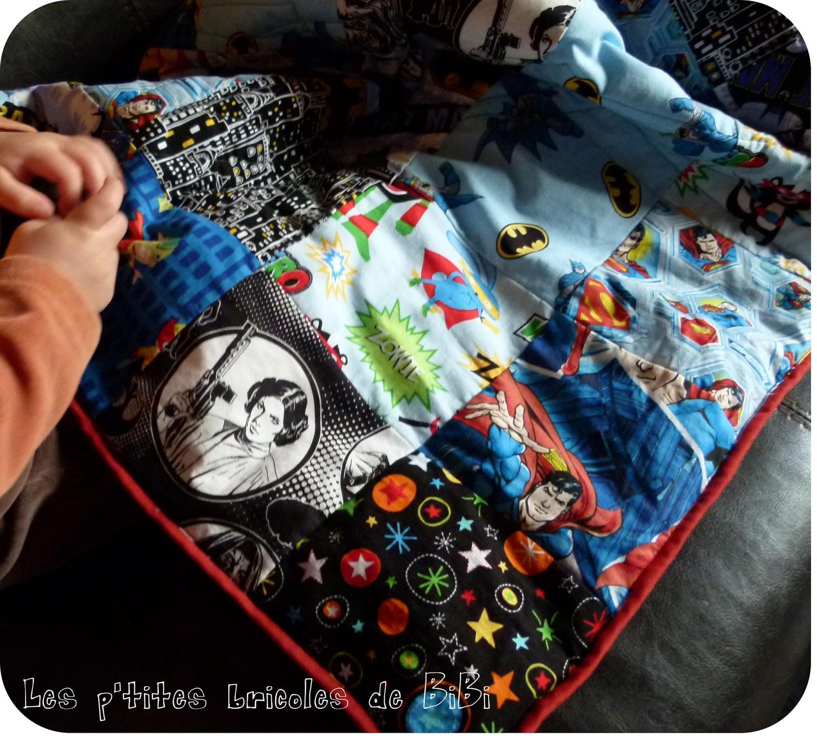 les p 39 tites bricoles de bibi super h ros. Black Bedroom Furniture Sets. Home Design Ideas