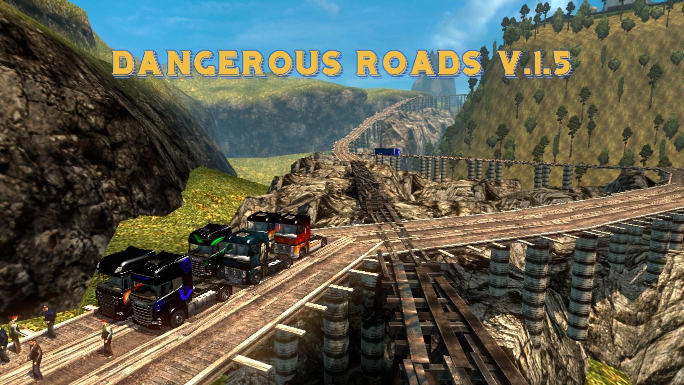 Mapa Estradas Perigosas V 1 5 Para V 1 21 X By Tantur