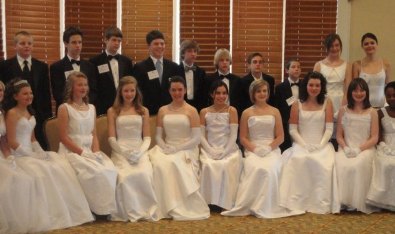 If you are looking for a white cotillion or graduation dress, here are