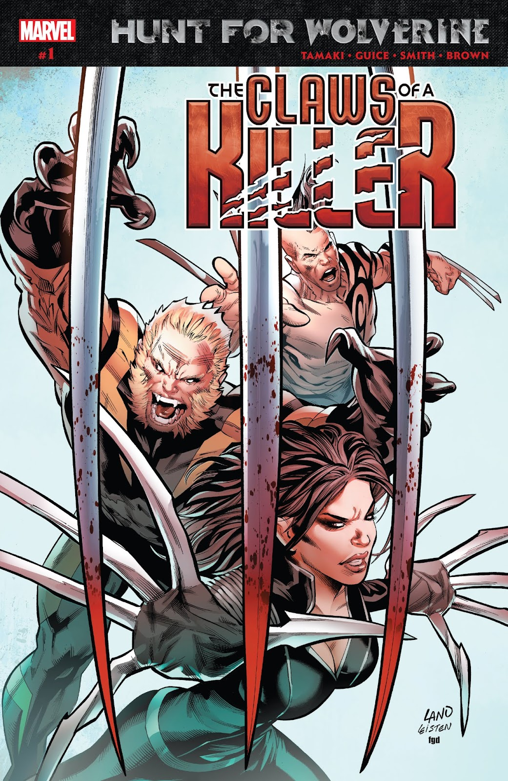 Hunt For Wolverine: Claws Of A Killer 1 Page 1