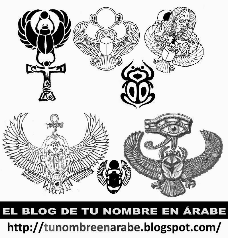 escarabajo egipcio tatuajes blanco y negro