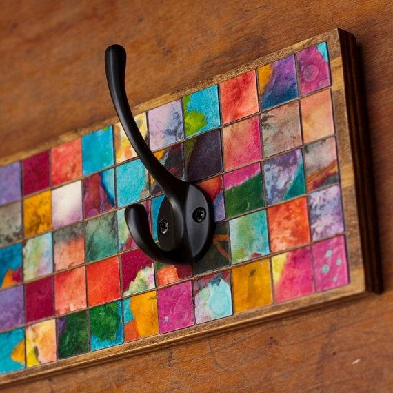 Cabideiro mosaico