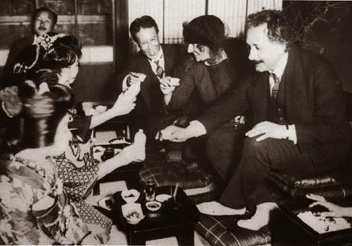 Einstein in Japan