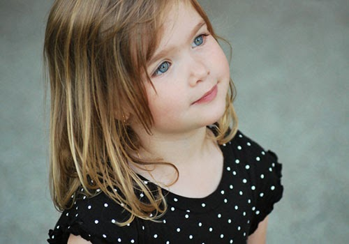 Cute Baby Girls Latest Hairstyle 2014