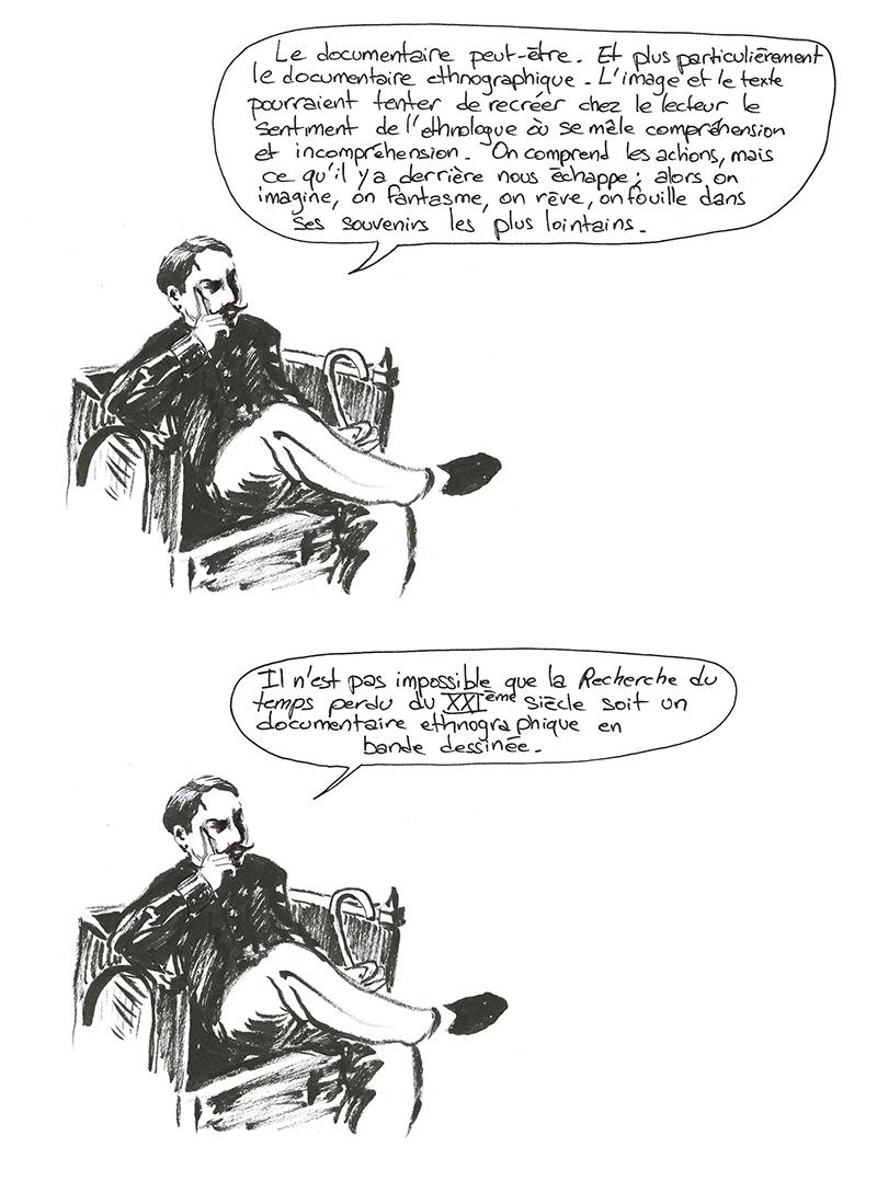 Proust et la Recherche du temps perdu du 21ème siècle.