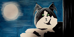 Moonlight Cat 2
