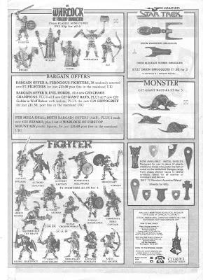 Mail Order Flyer de Febrero de 1987