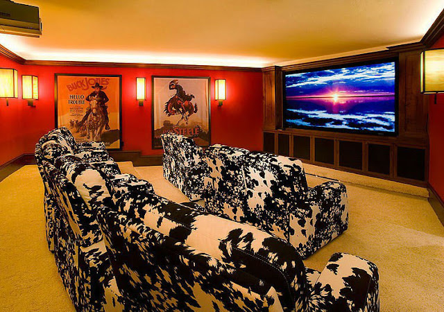 комната - домашний кинотеатр
