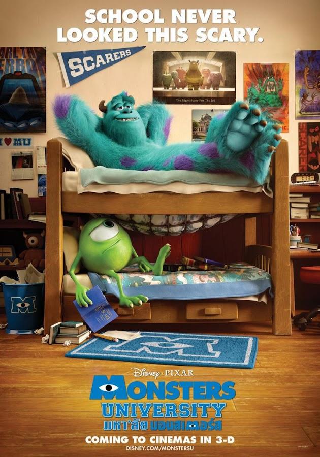 ตัวอย่างหนังใหม่ : Monsters University (มหา'ลัยมอนสเตอร์) ตัวอย่างที่ 2 ซับไทย poster