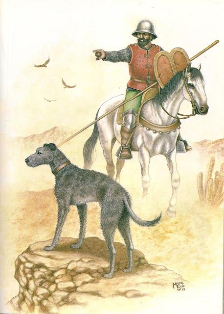 Armamento y equipo de los conquistadores españoles en el norte de América LOSCONQUISTADORES0001