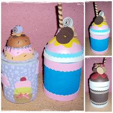 Porta treco Cupcake
