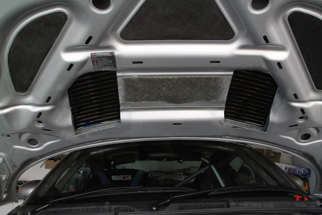 Audi Tt Race Car Project Tt Hood Vents Amp Pipes