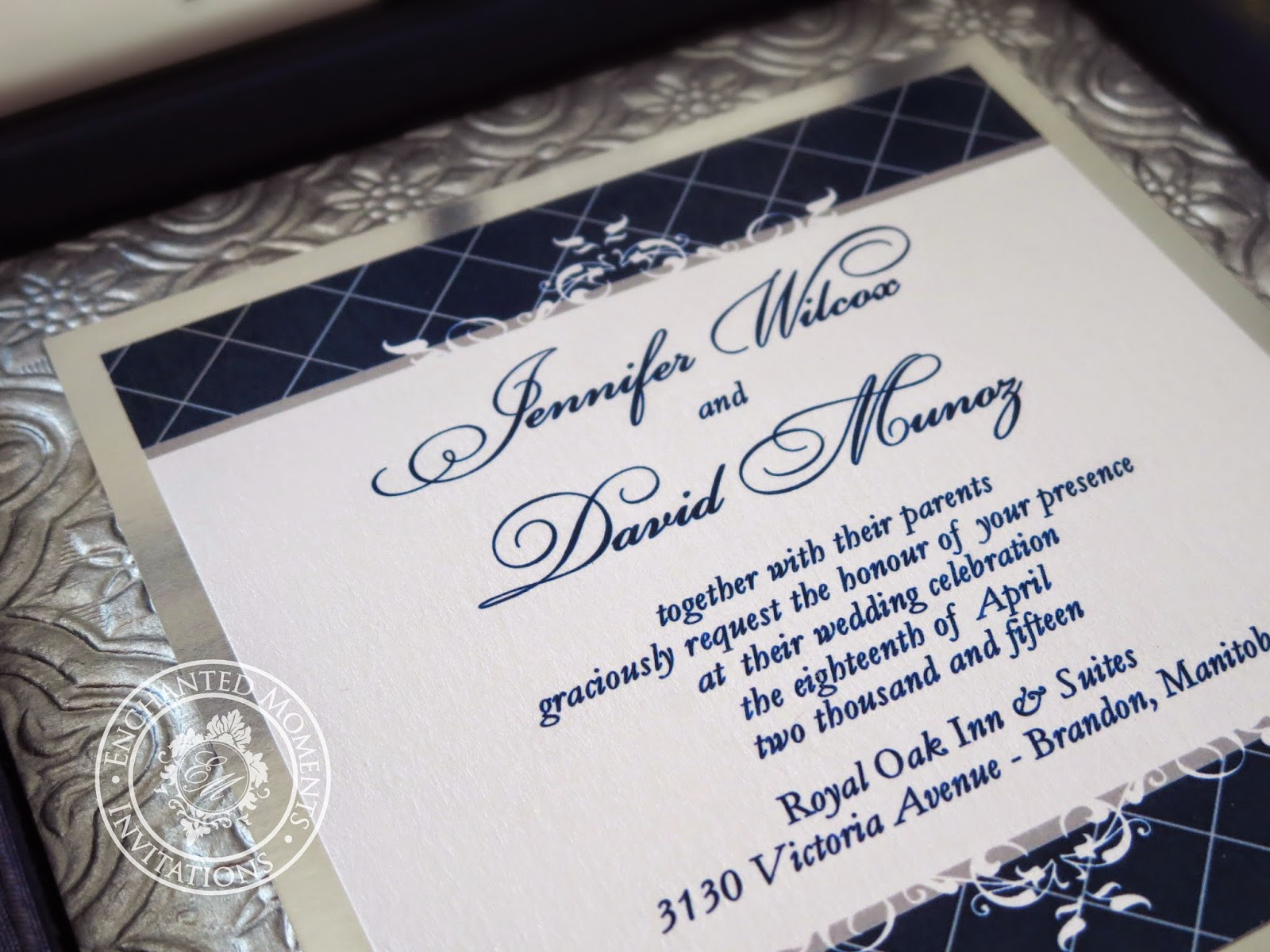 Enchanted Moments Couture - Events & Stationery