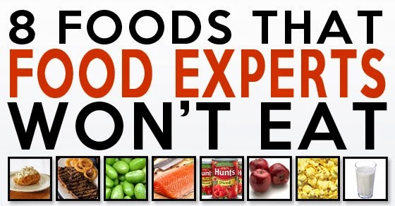 8 Foods Even The Experts Won't Eat