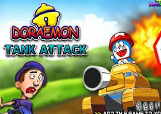 Doraemon Tank Attack   Juegos15.com