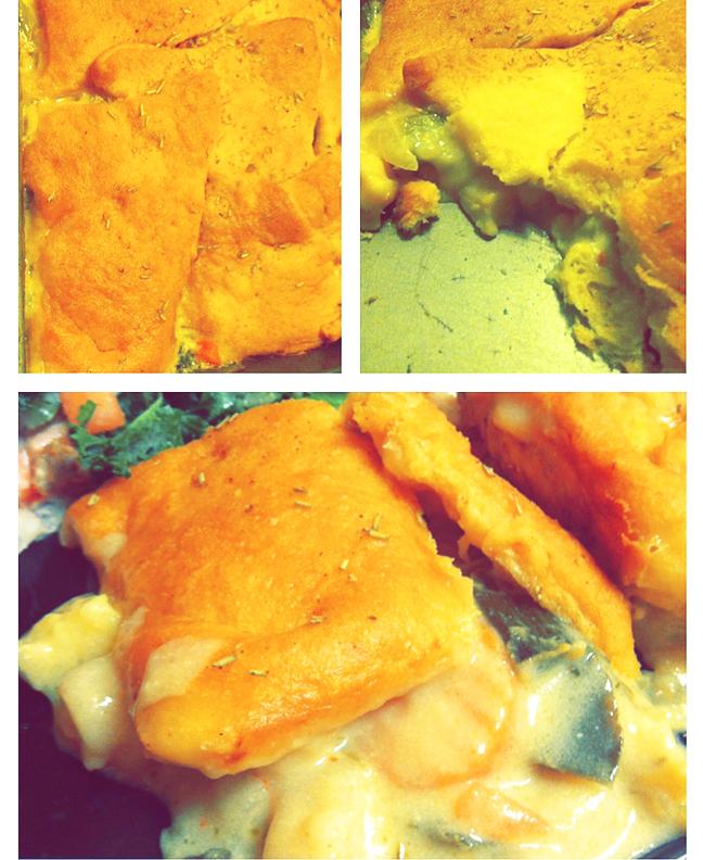 #easy #casserole #pot pie #vegetarian