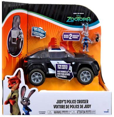 TOYS : JUGUETES - DISNEY Zootropolis | Zootopia  Coche Policia y Judy | Figura - Muñeco + Vehiculo  Judy's Police Cruiser  Producto Oficial Nueva Película 2016 | TOMY | A partir de 3 años  Comprar en Amazon España & buy Amazon USA