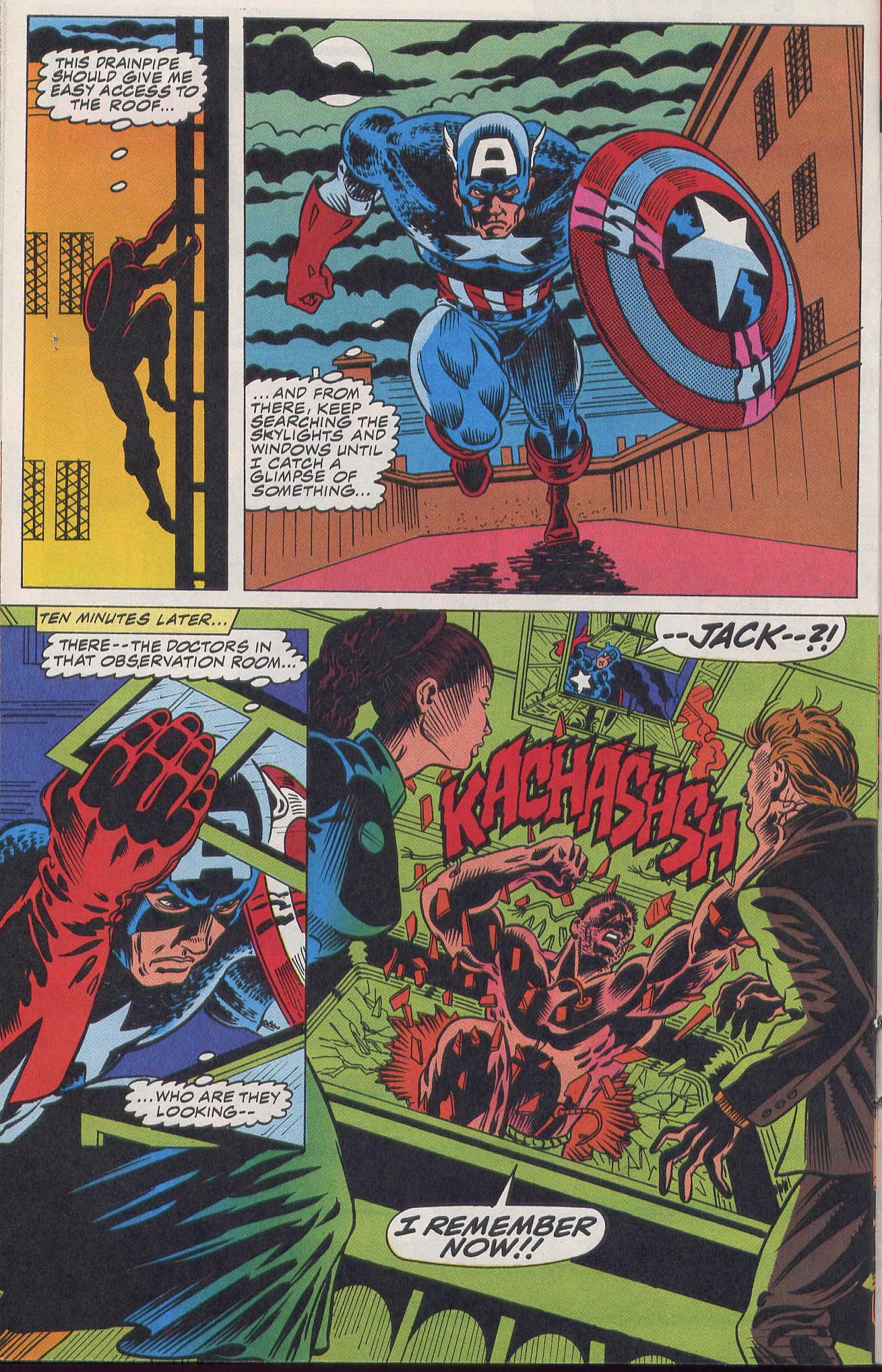 Captain America (1968) Issue #420b #370 - English 16