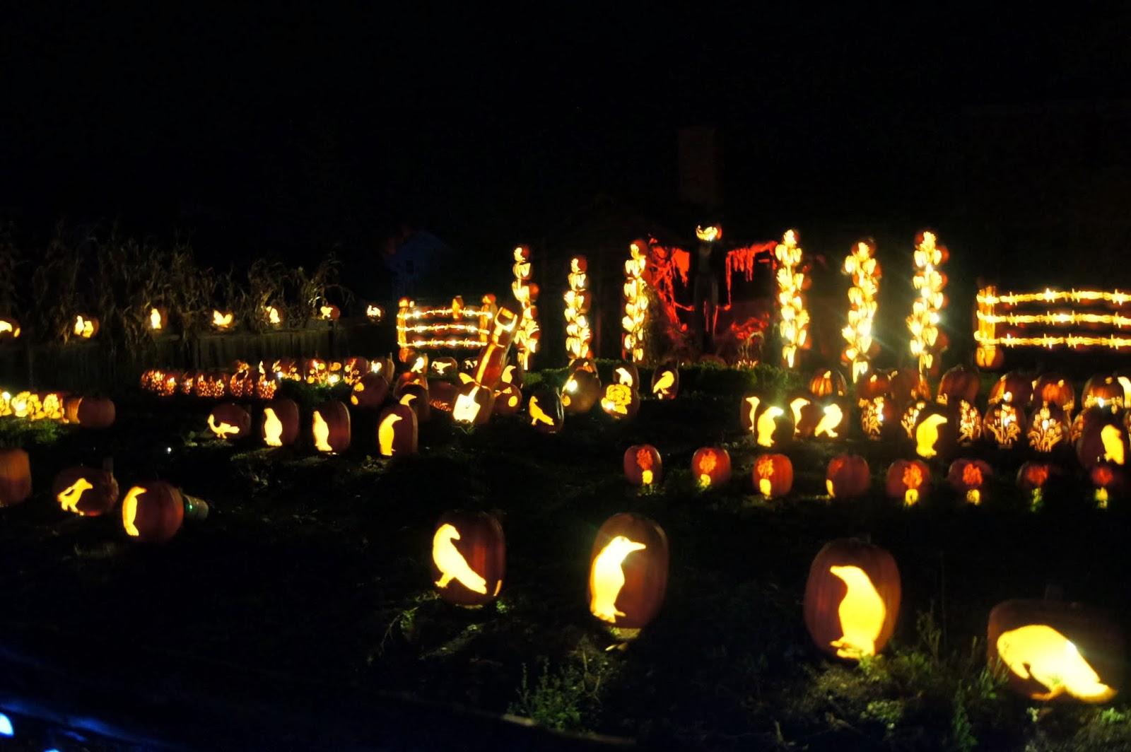 Halloween Pumpkin Festival A Visit To Pumpkin Inferno