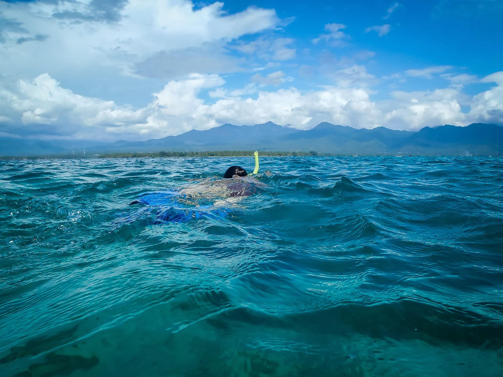 snorkelling en Gili Air