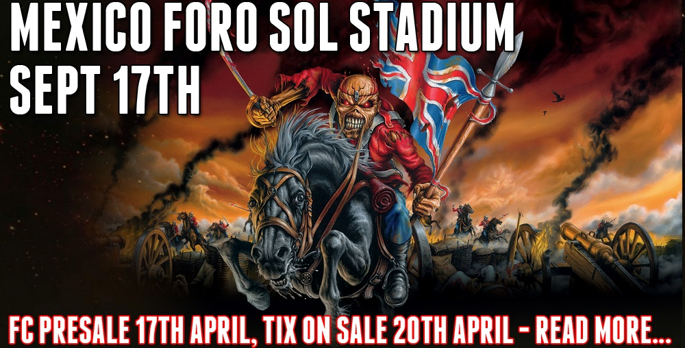 IRON MAIDEN EN MEXICO
