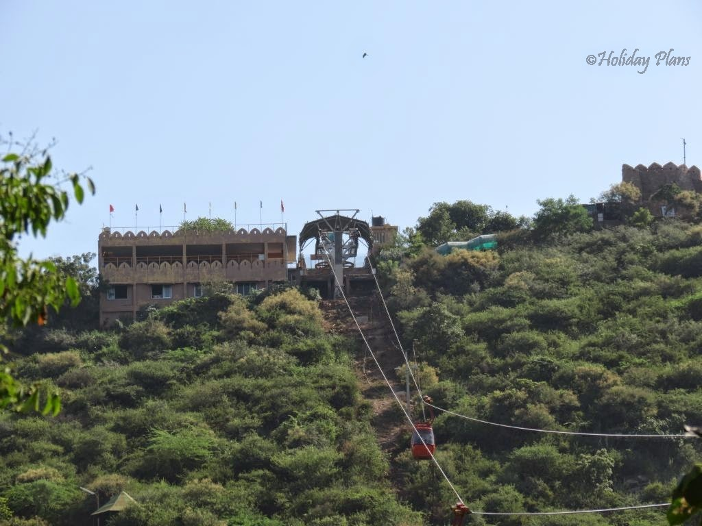 Ropeway from Lake Pichola to Mansapuran Karni Mata