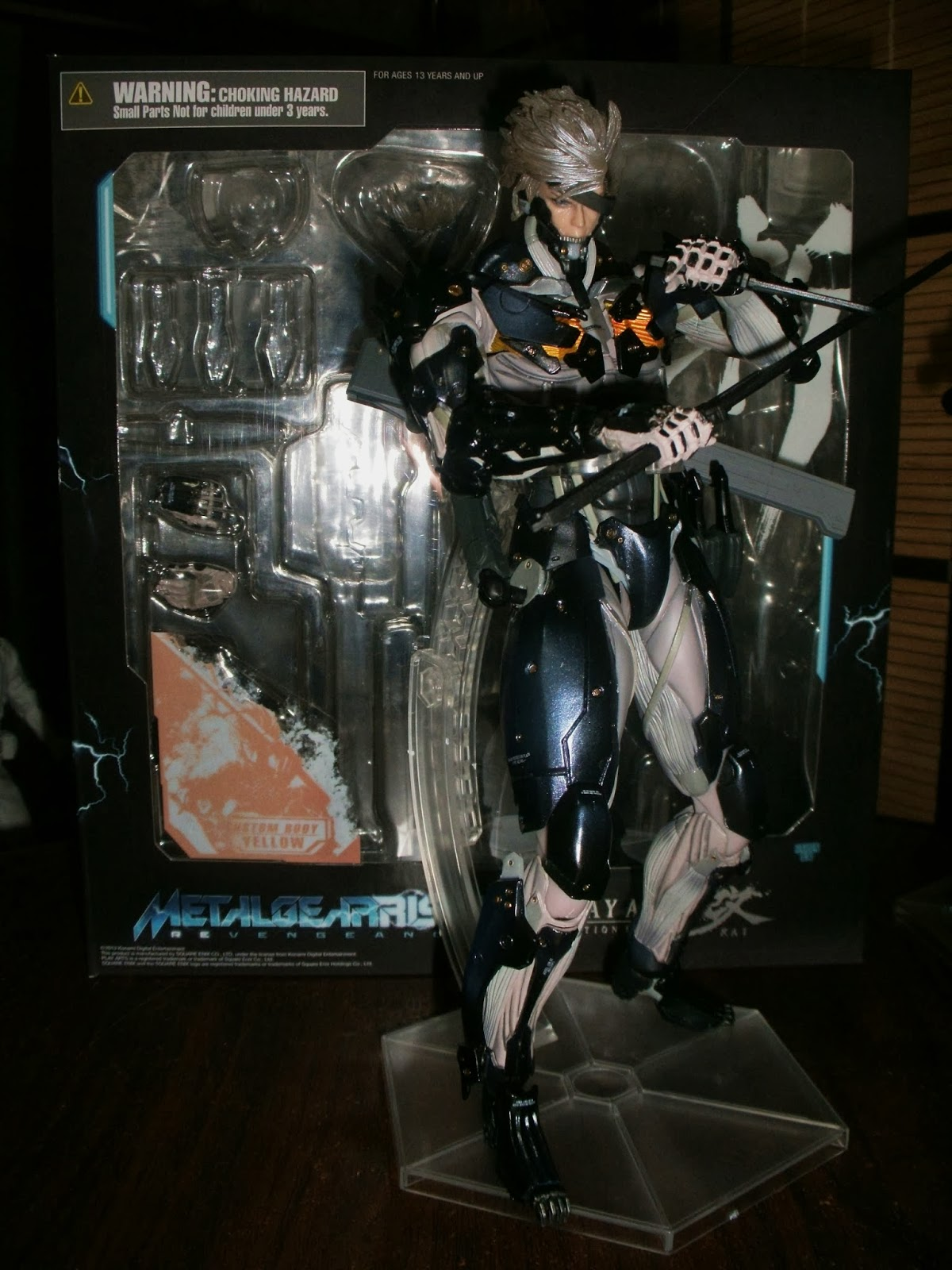 angels and summer play arts kai raiden mgrr comparative review