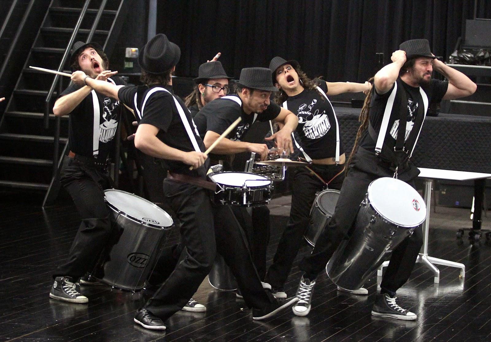 Madrid , samba , batucada , percusión , teatro , clown , comedia