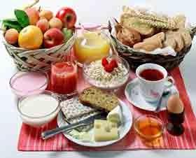 sarapan tanpa lemak