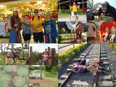 Fotos de atrações do parque Beto Carrero World - Penha - SC