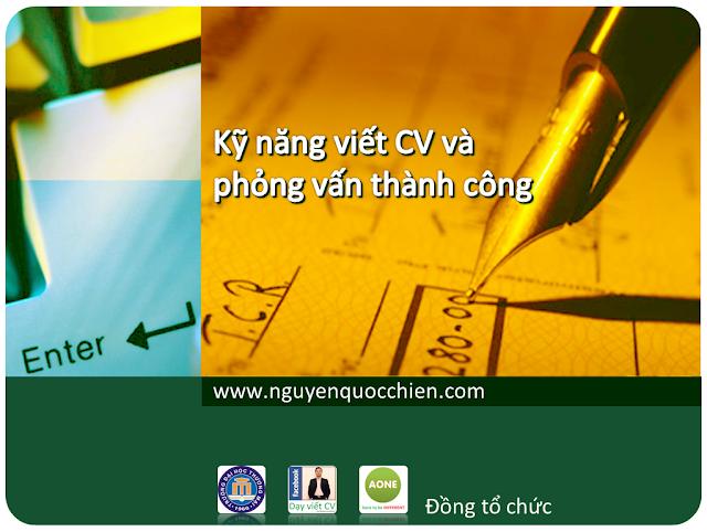Kỹ năng viết CV & Phỏng vấn thành công - KKy9