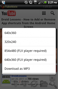 Cara Download Video Youtube di Android 5