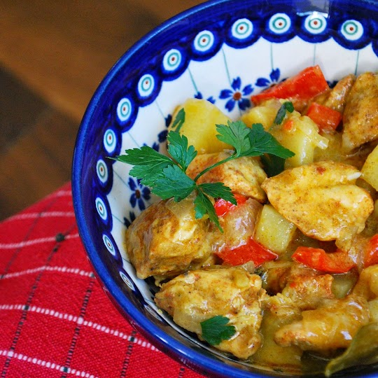 Kurczak w curry