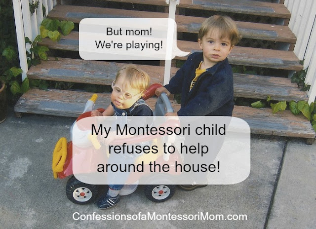 My Montessori Child Refuses to Help Around the House