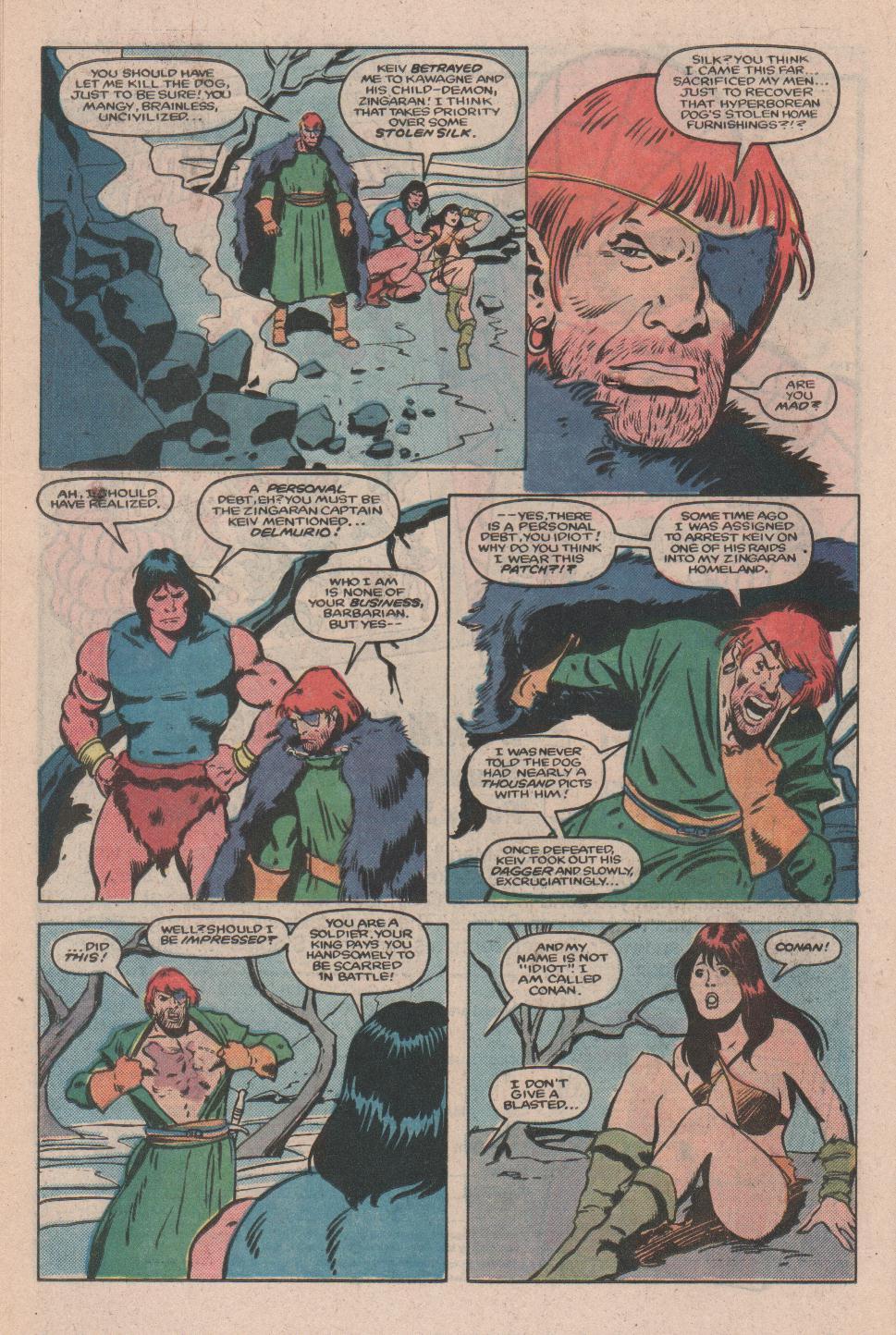 Conan the Barbarian (1970) Issue #173 #185 - English 19