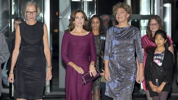 Hier, la Princesse Mary a assisté à un concert organisé par DR en l'honneur des 200 ans de l'école obligatoire au Danemark