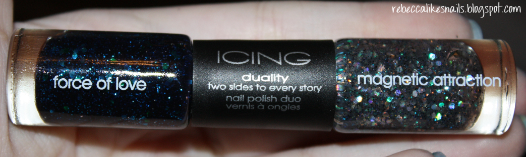 rebecca likes nails: icing duo - force of love/magnetic attraction ...