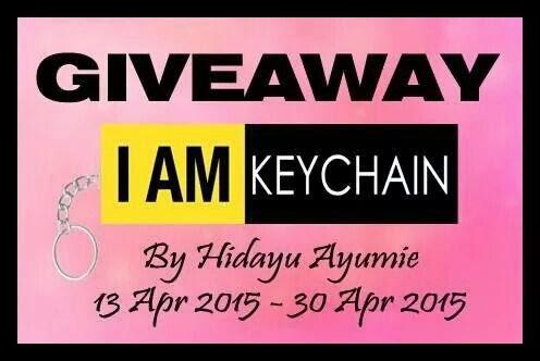 http://hidayuayumie.blogspot.com/2015/04/giveaway-i-am-keychain-by-hidayuayumie.html