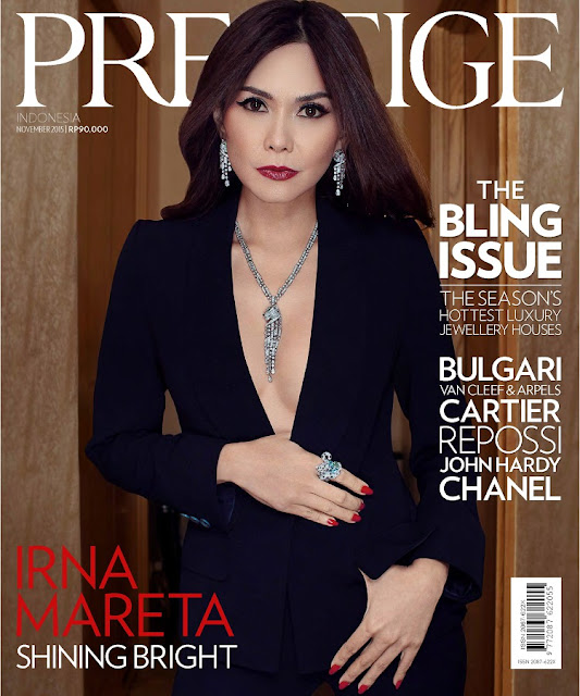Model @ Irna Mareta - Prestige Indonesia, November 2015