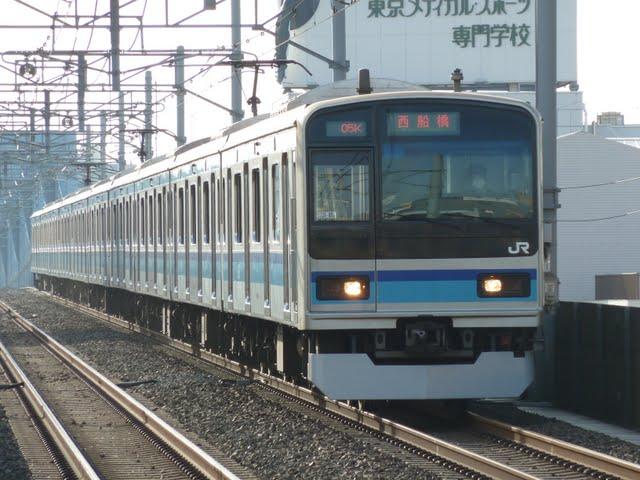 東京メトロ東西線 西船橋行き6 E231系800番台