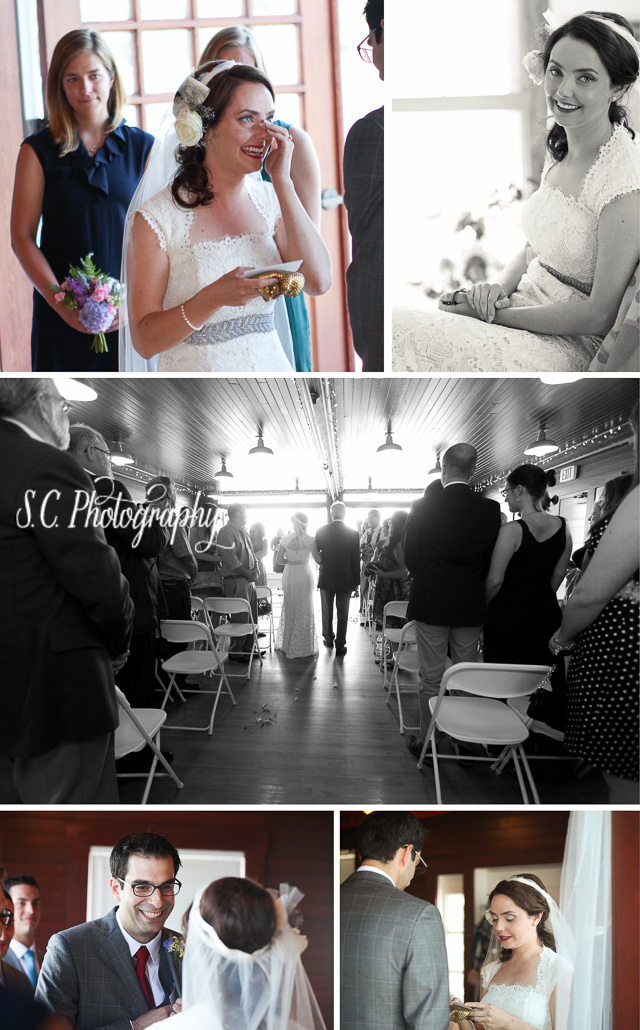 Elberta Lifesaving Station Wedding Ceremony