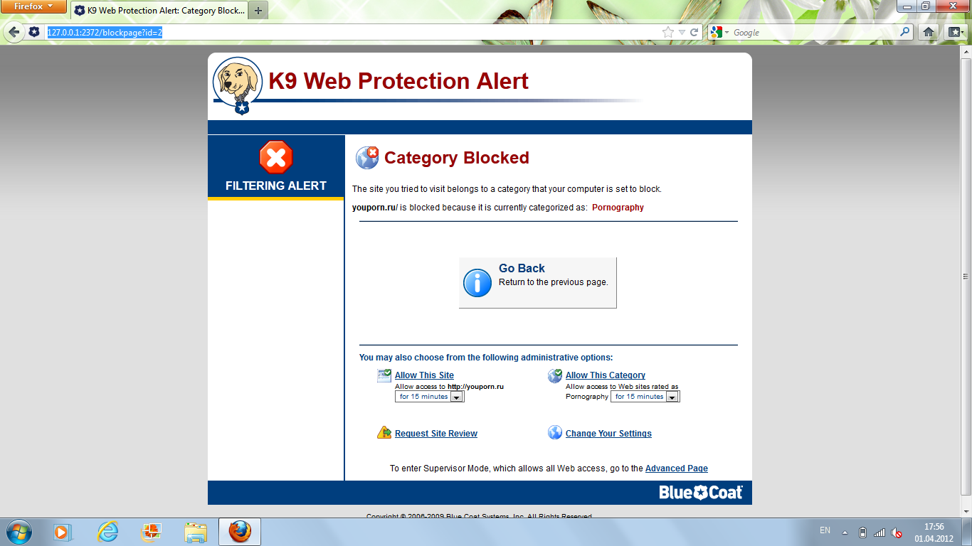 how to download k9 web protection