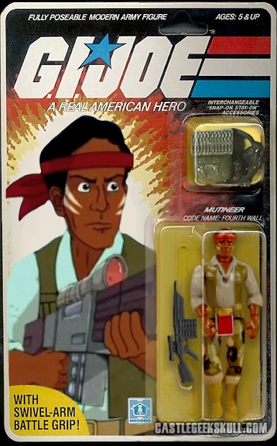 Community GI Jeff GI Joe Action Figures Fourth Wall Packaging