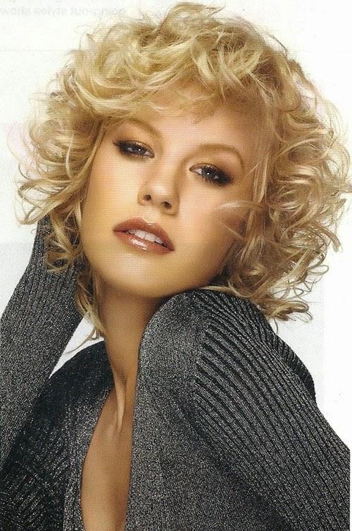 Arreglar el flequillo de un pelo rizado u ondulado Pretty