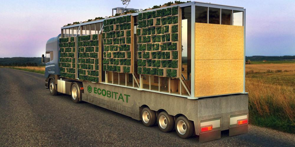 El plan z arquitectura ecobitat casa modular transportable for Arquitectura modular