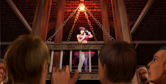 Parody Mikasa Ackerman Singing Cute Pink Dress Abs Girl Female Attack on Titan Shingeki no Kyojin Anime HD Wallpaper Desktop PC Background 2112
